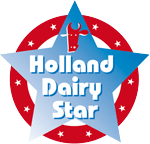 Holland dairy star logo