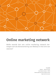 Dutch Whitepaper - Online marketing network