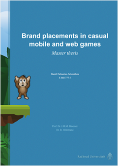 Master Thesis - Brand placements in casual mobile and web games